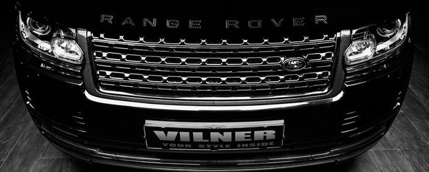 Vilner imbraca in carbon noul Range Rover Autobiography