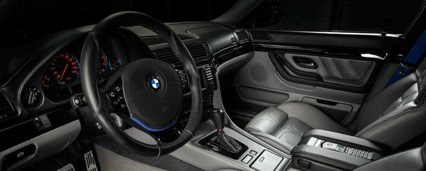 Vilner scoate la vanzare un BMW E38 cu interiorul complet modificat