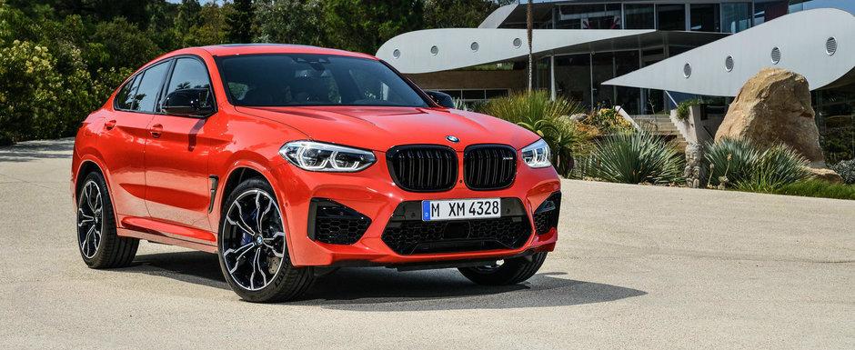 Vin cu 480 CP sa ia cu asalt piata din Romania. Cat costa la noi in tara noile BMW X3 M si X4 M