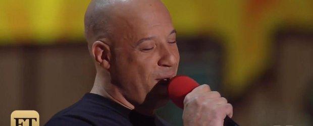 Vin Diesel nu are talent la cantat dar ne emotioneaza cu un tribut pentru Paul