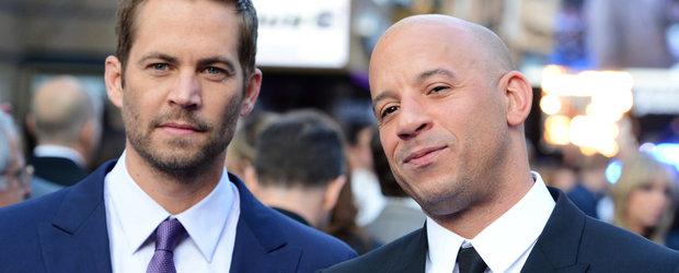 Vin Diesel si-a botezat fiica Pauline, in onoarea lui Paul Walker