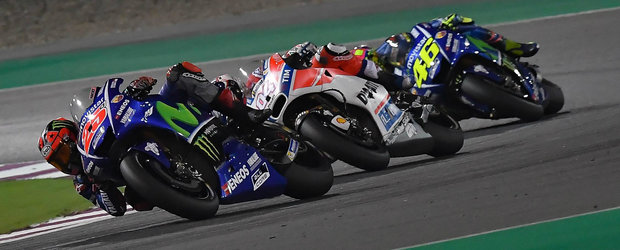 Vinales, victorie in Qatar la debutul sau la Yamaha