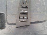 VIND BUTOANE GEAMURI BMW SERIA 5, E60,volan stinga,cu buton de rabatare oglinzi si fara