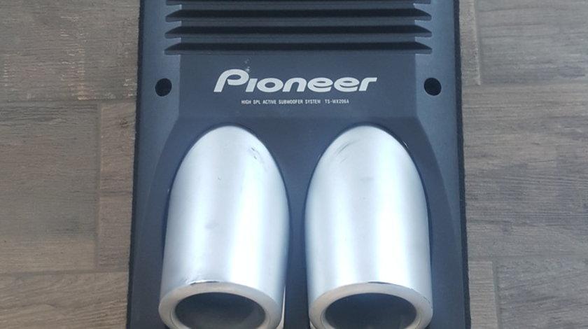 Vindem subwoofer Activ 100 W,  PIONEER, TS-WX206A. Stare impecabila.