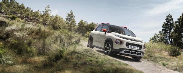 Vine in Romania ca sa concureze cu Dacia Duster si Renault Captur. Cat costa si mai ales ce propune noul Citroen C3 Aircross