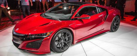 Vino sa vezi noua Honda NSX de 580 cp la Salonul Auto Bucuresti si Accesorii