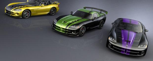 Viperele VIP: Ultimele Dodge Viper speciale!