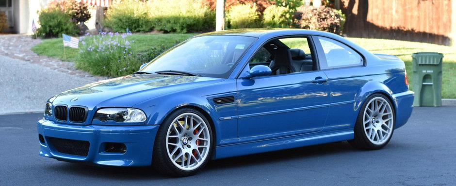 Visul oricarui pasionat de BMW. Se vinde un M3 E46 cu kilometri putini si mult-dorita cutie manuala