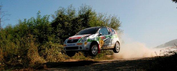 Vlad Cosma, Citroen si Pirelli au triumfat in Raliul Aradului
