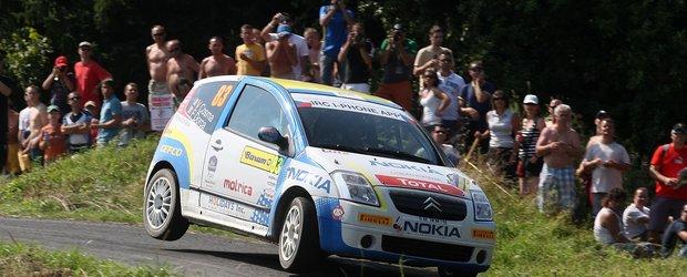 Vlad Cosma incheie Barum Czech Rally pe sase la clasa lui