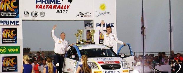 Vlad Cosma si Florin Dorca au participa la Barum Czech Rally, in IRC