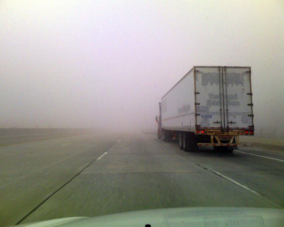 Voi cum conduceti pe timp de ceata? Care este cea mai sigura varianta?