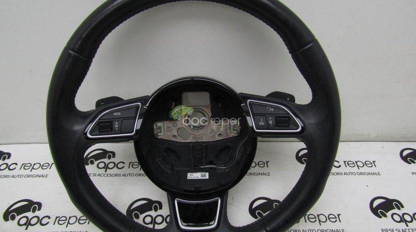Volan 3 spite + comenzi + padele  Audi A4 8K B8
