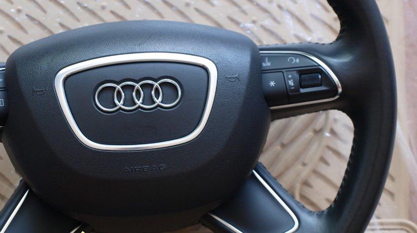 Volan Audi A6 A8 incalzit+padele mod nou 2012 compatibil A4 A6 A7 A8