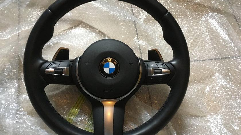 Volan BMW M Sport cu padele BMW F01 F02 F07 F10 F11 F12 F13 2018