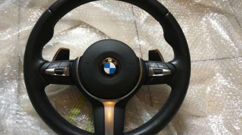 Volan BMW M Sport cu padele BMW F01 F02 F07 F10 F11 F12 F13
