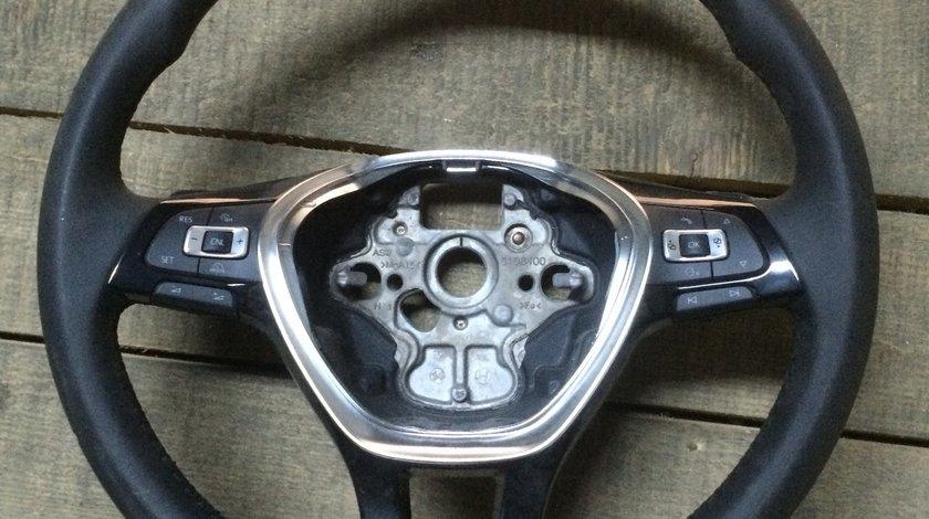 Volan compatibil cu VW Golf 7 NOU comenzi+padele cutie DSG