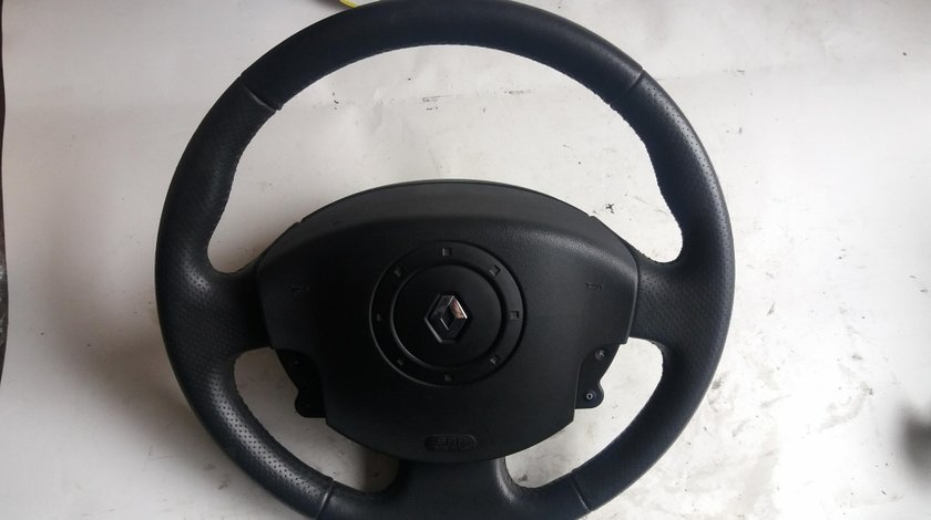 Volan complet cu airbag renault scenic 2 8200310291