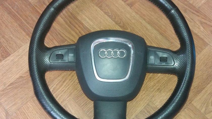 Volan cu comenzi, piele, Audi A4 B7
