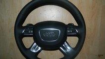 Volan cu comenzi piele si airbag Audi A6, A7, Q3
