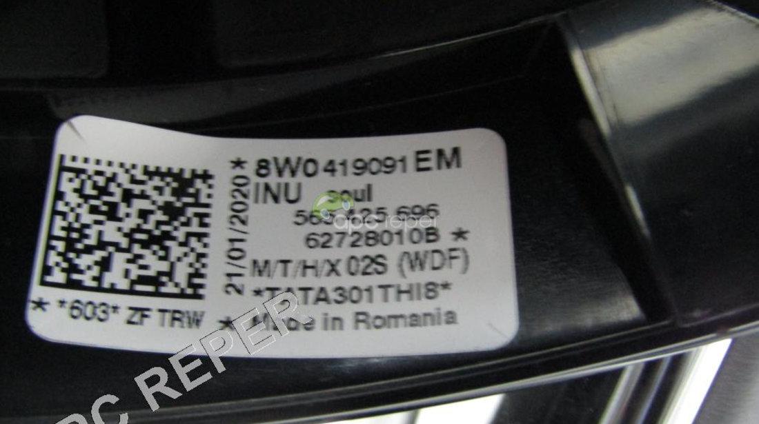 Volan cu incalzire Audi A4 8W B9 / A5 f5 Original cod 8W0419091EM