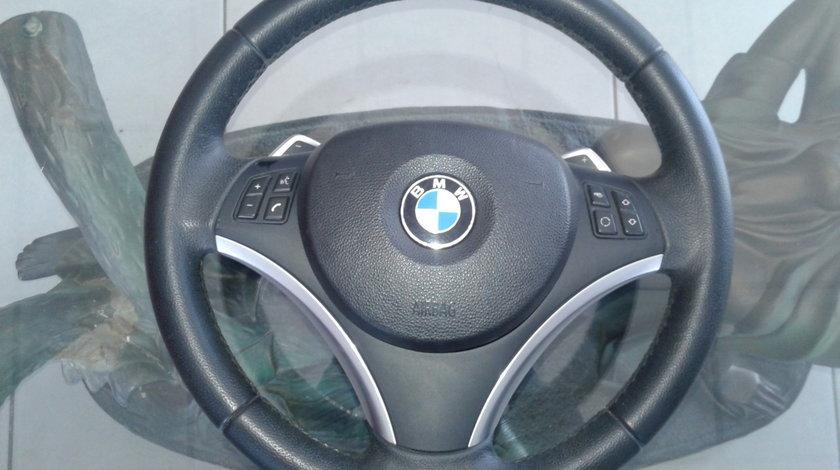 volan cu padele + airbag BMW Seria 1 E82 E87 2005-2013