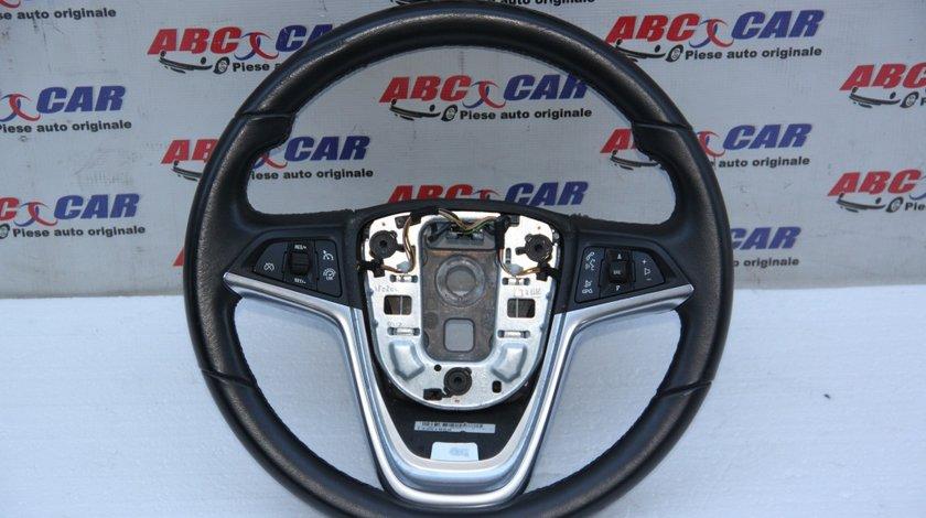 Volan din piele cu comenzi Opel Zafira C cod: 13351029 model 2018