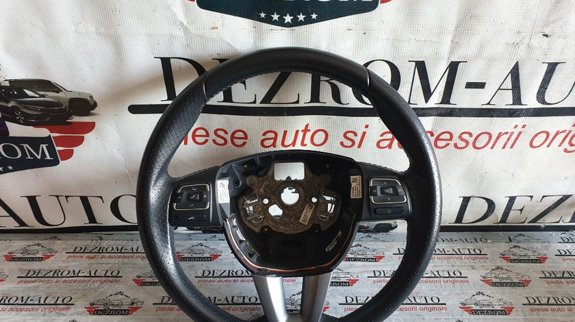 Volan din piele perforata multifunctional Seat Altea 5P cod piesa : 5P0419091AR