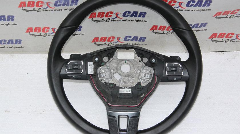 Volan din piele si comenzi VW Passat B7 cod: 3C8419091 2010-2014