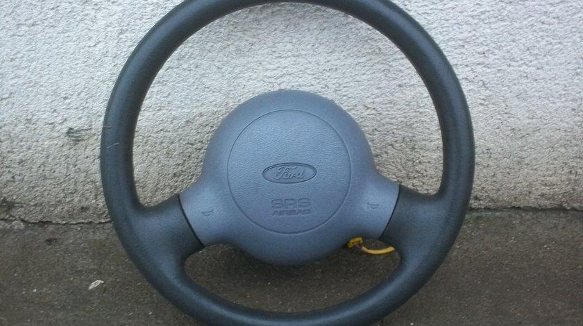 Volan Ford Ka complet cu tot cu airbag si spirala.