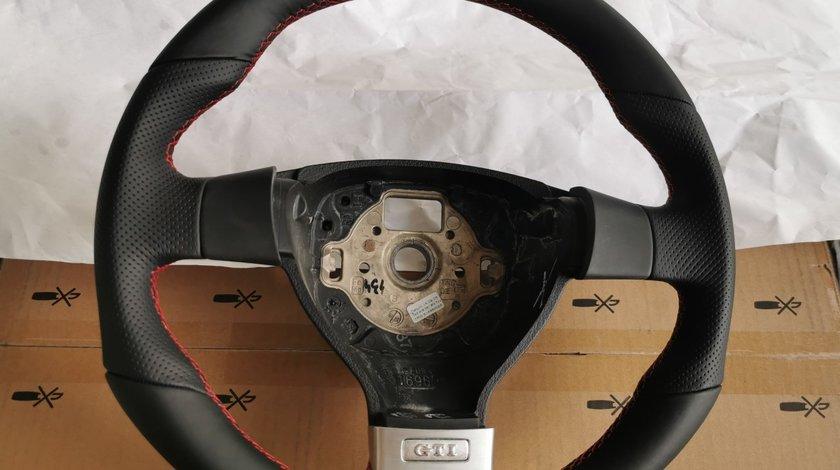 Volan GTI Sport Golf 5 Passat B6 Touran Tiguan Jetta Caddy EOS Airbag Cusatura Rosie