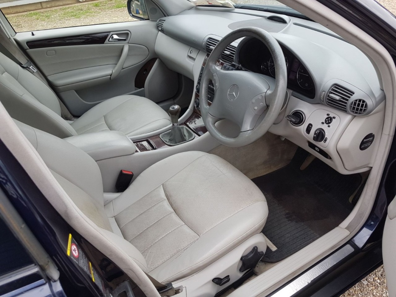Volan Mercedes C-CLASS W203 2006 berlina 2.2