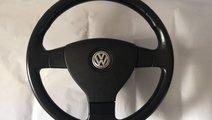 Volan Piele 3 Spite VW Tiguan Touran Airbag Cablaj...