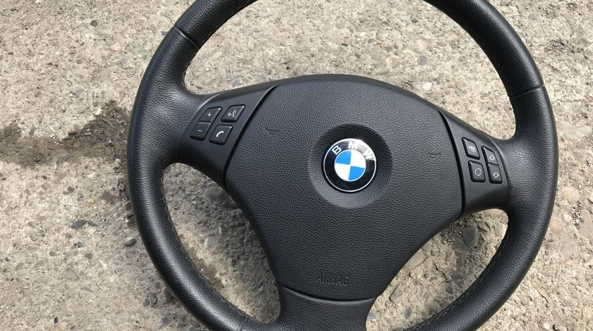 Volan piele cu comenzi BMW Seria 3 E90 2009 2010 2011 2012