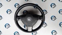 Volan piele Opel Astra H cu airbag si comenzi