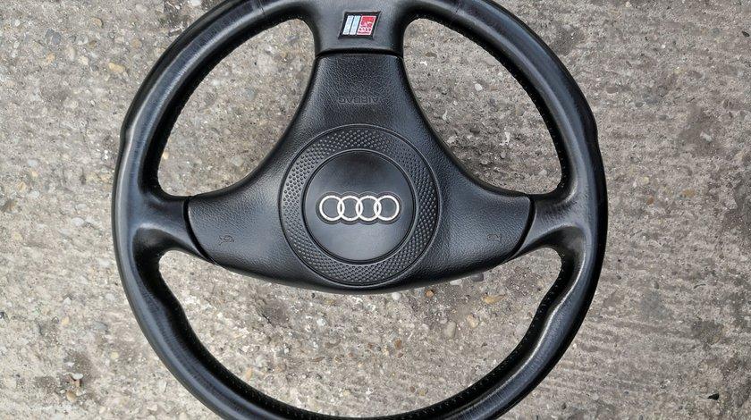 Volan piele S-Line Audi A4 B5,B6,B7,A6 C5,A8,etc