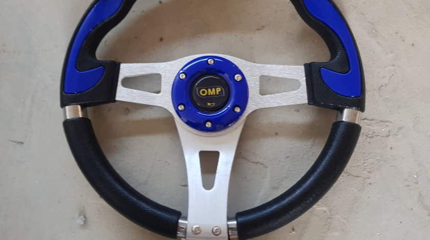 Volan sport OMP albastru