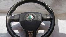 Volan Sport Piele Skoda Octavia 2 RS VRS Airbag Ae...