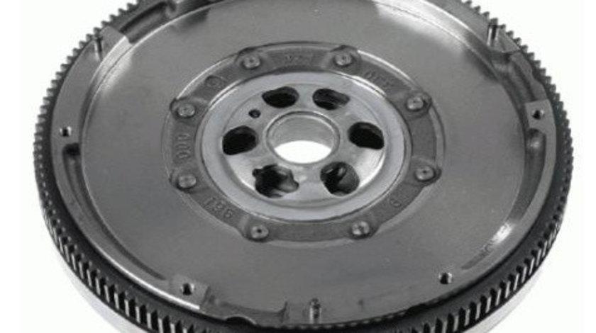 Volanta masa dubla (250mm, fara set suruburi; fara rulment presiune; cu disc ambreiaj) NISSAN NP300 NP300 NAVARA, PATHFINDER III 2.5D dupa 2005
