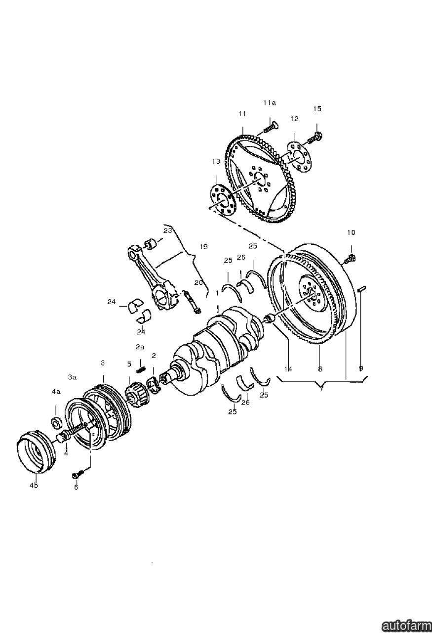 Volanta masa dubla motor 2,5 TDI Vw Touareg LUK 059 105 266e