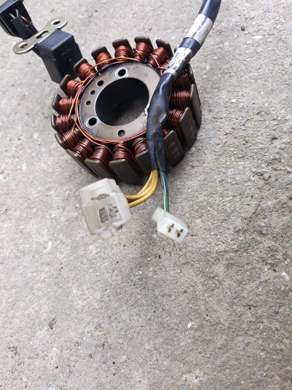 Volanta + Stator  Kymco Bet&Win (B&W) - Grand Dink - People - People S - X Citing - Yup 4T LC 250cc