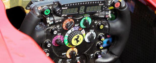 Volanul cu 50 de butoane din Formula 1, explicat in detaliu