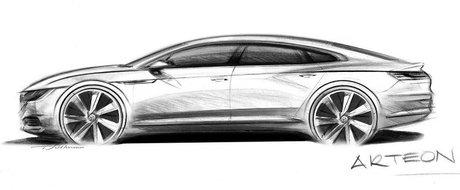 Volkswagen a dezvaluit numele urmasului lui CC: Arteon