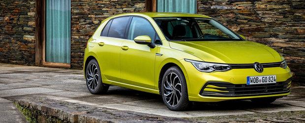 Volkswagen a ieftinit deja noul Golf 8. Cat costa acum in Romania cea mai asteptata masina a anului