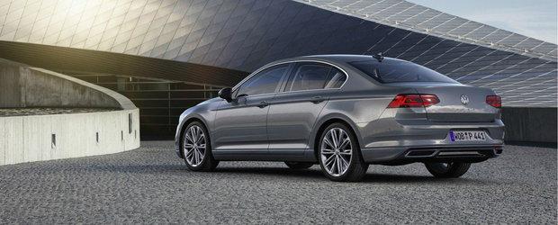 Volkswagen a ieftinit si mai mult noul Passat. Uite cu cat se vinde acum masina germana pe piata din Romania