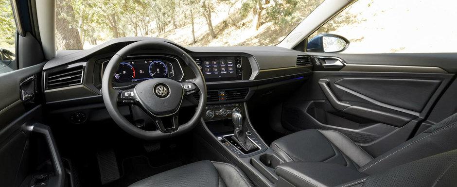 Volkswagen a lansat noua Jetta. Masina germana are un ecran color in locul vitezometrului