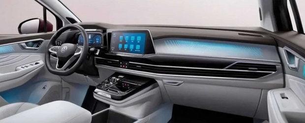 Volkswagen a lansat pe piata un SUV cu o lungime de peste cinci metri si platforma de Golf. Galerie foto completa