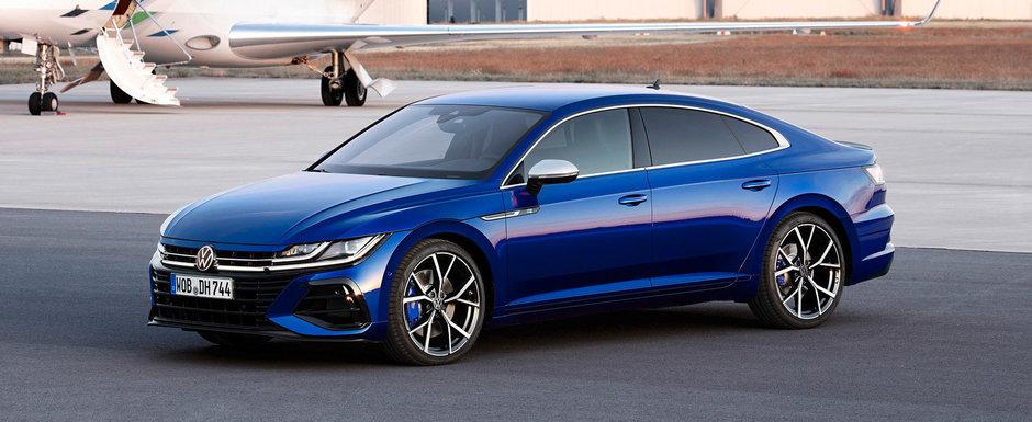 Volkswagen a prezentat, in sfarsit, masina asteptata de toata lumea. Fa cunostinta cu noul Arteon R!