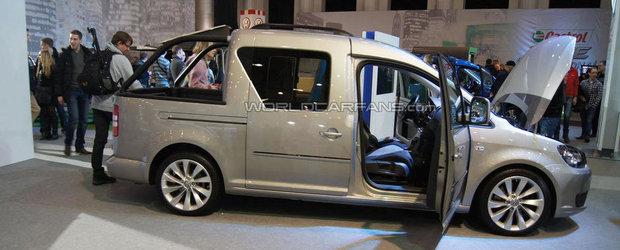 Volkswagen a prezentat noul concept Caddy Pick-Up