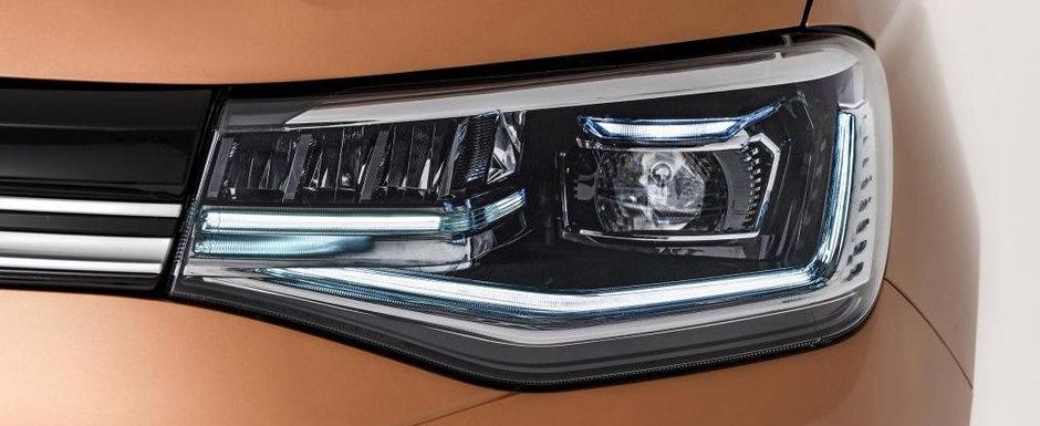 Volkswagen a prezentat oficial masina camuflata in Dacie. Galerie foto completa